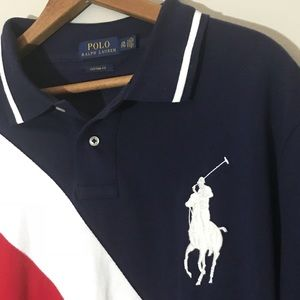 Super specials polo ralph lauren big pony short sleeved purple rl-mag  bgxmyqcn,polo